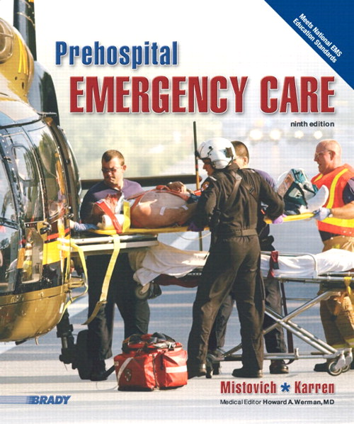Prehospital Emergency Care Plus NEW MyBradyLab with Pearson eText, 9th Edition