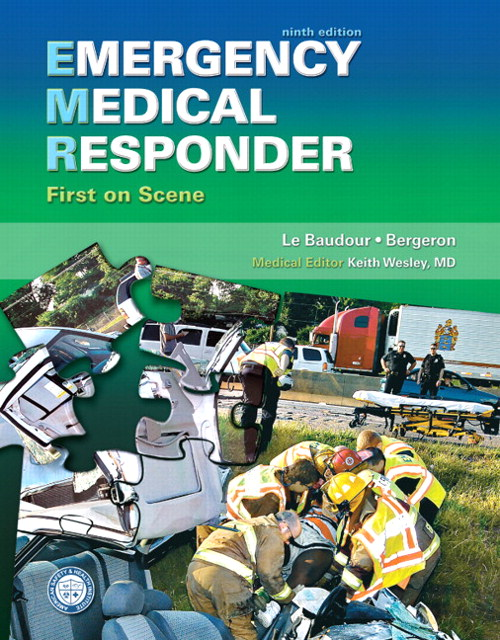 Emergency Medical Responder: First on Scene, 9th Edition