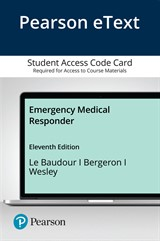 Pearson eText Emergency Medical Responder -- Access Card, 11th Edition